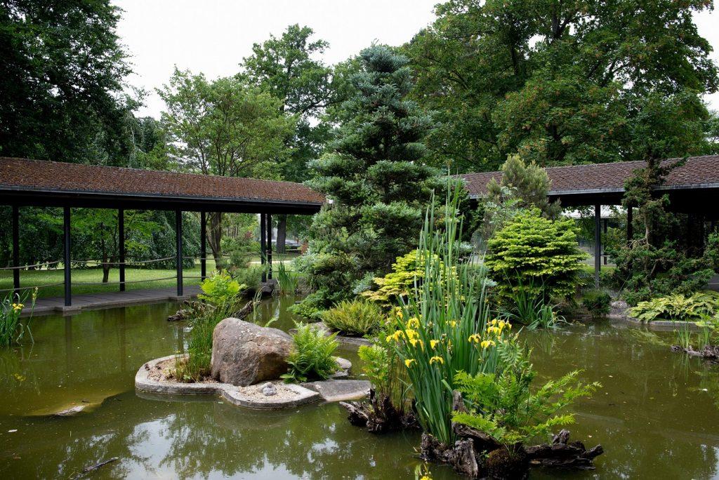 parc floral pavillon