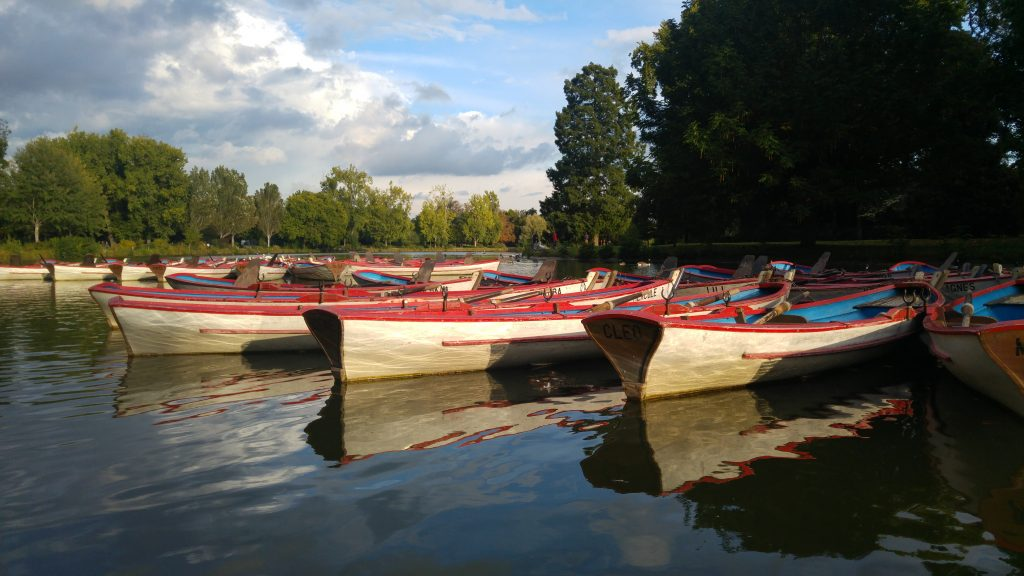 barques lac vincennes