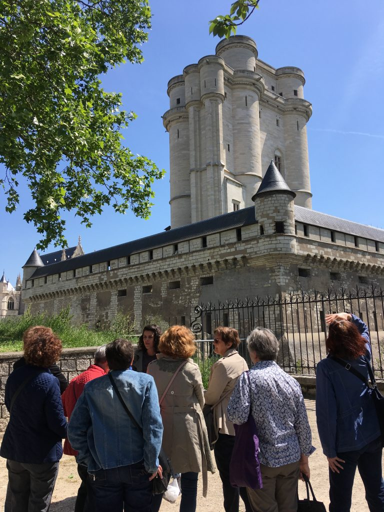 visite guide chateau vincennes