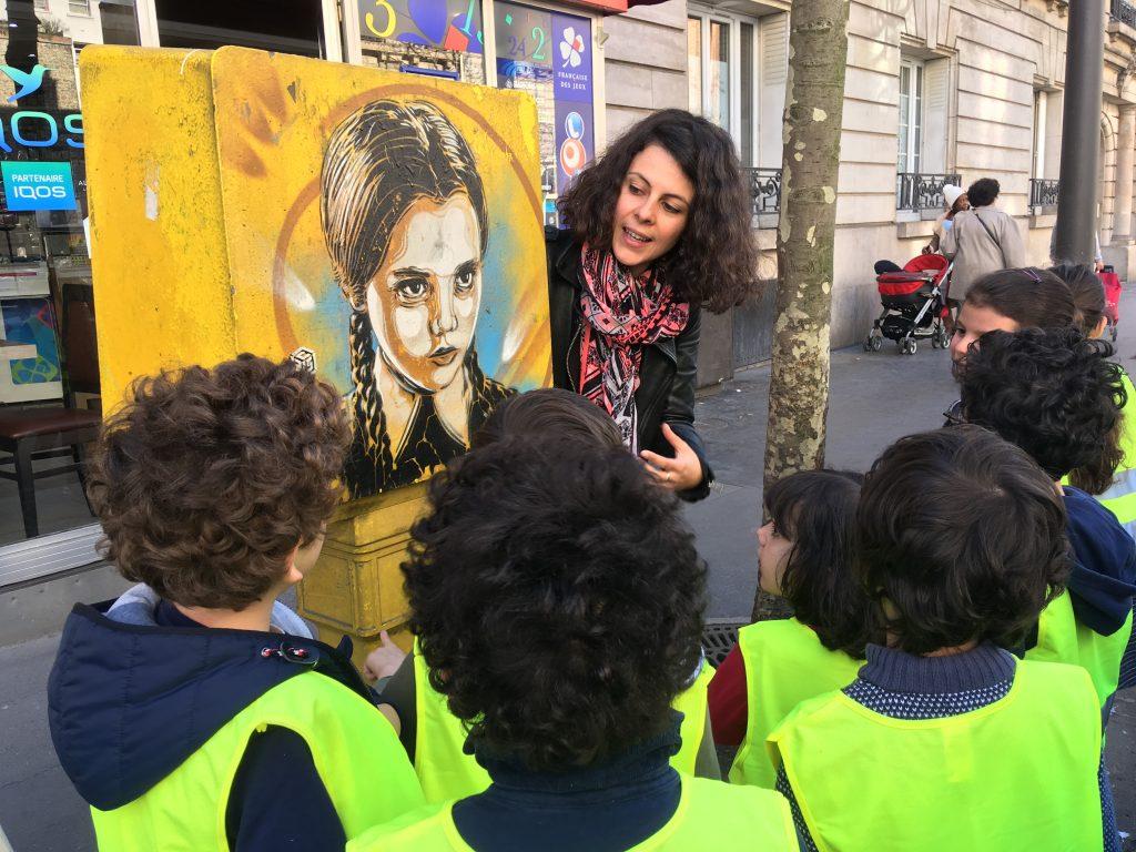 atelier street art enfants