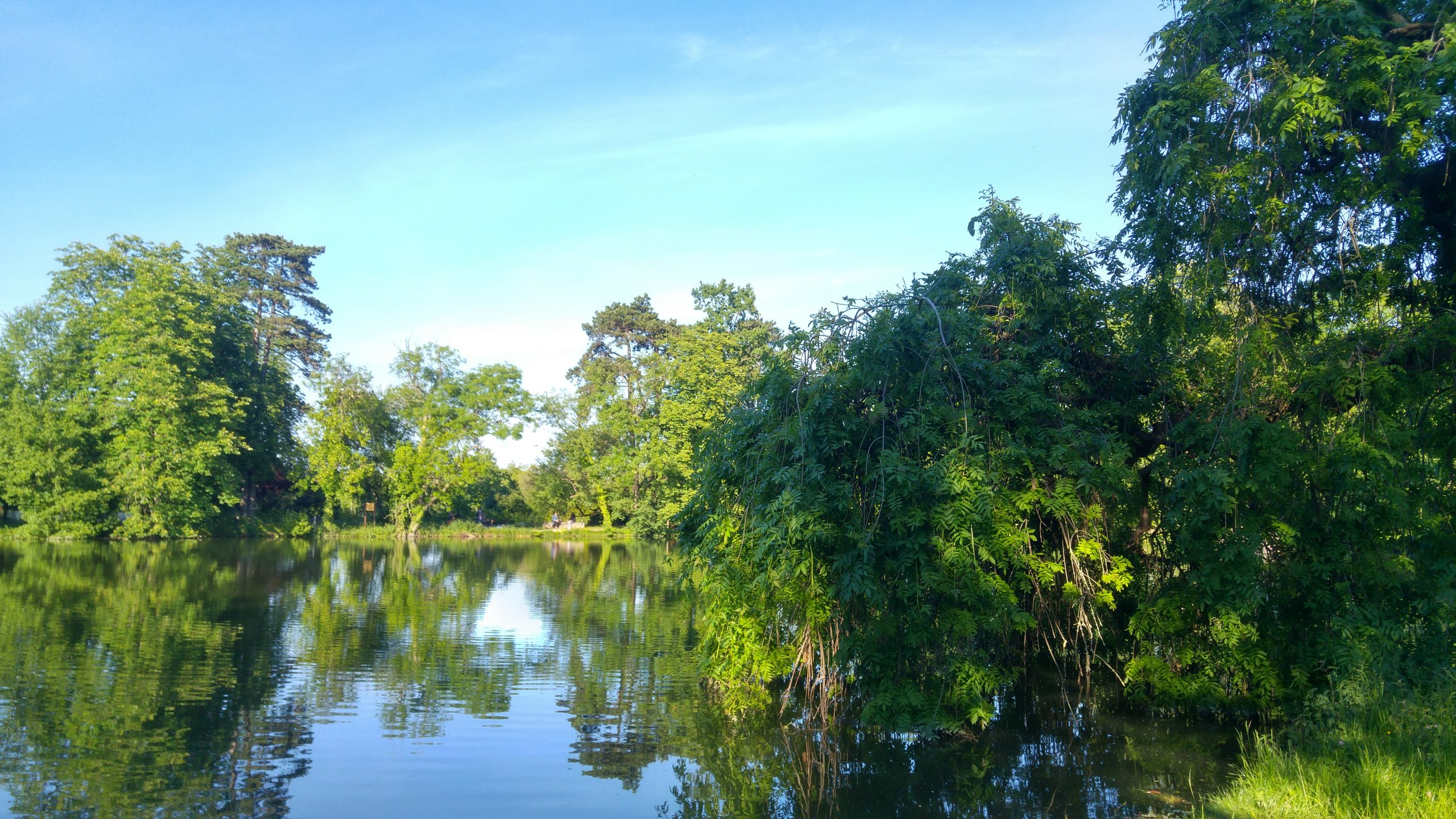 lac des minimes bois vincennes