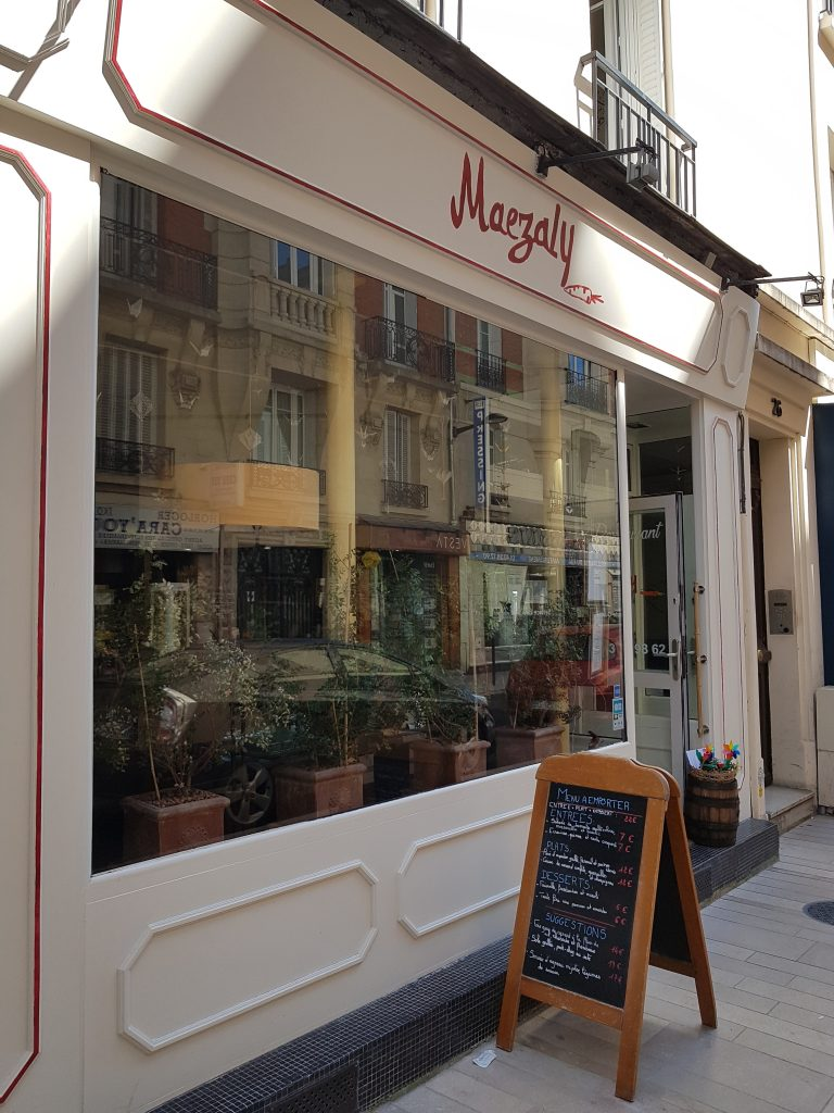 restaurant maezaly vincennes