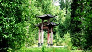 temple au jardin d'agronomie tropicale